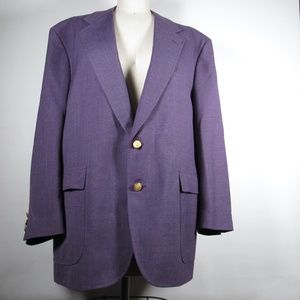 purple blazer/jacket